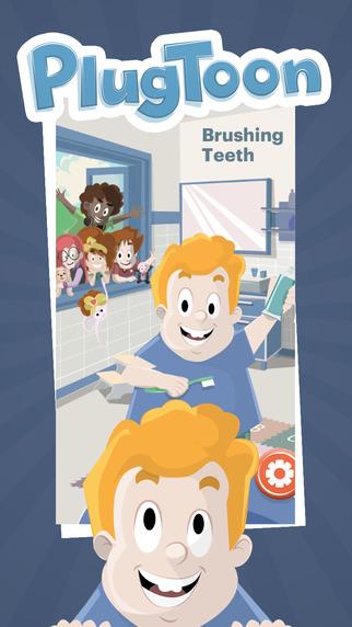 PlugToon Gang Brushing Teeth